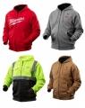 Толстовки с подогревом и женские куртки с подогревом Milwaukee M12