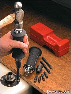 Ударная отвертка – ручной инструмент вместо ударного шуруповерта