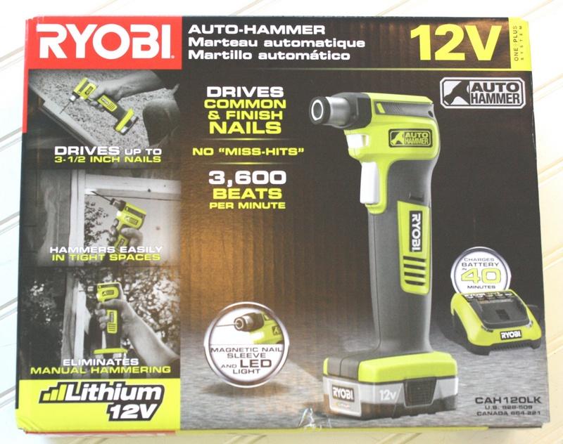 Обзор автоматического молотка Ryobi CAH120LK