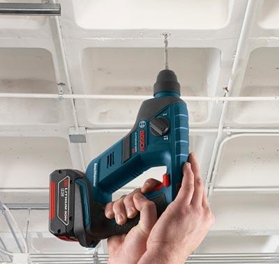 Новый, еще более компактный 18-вольтный перфоратор Bosch RHS181