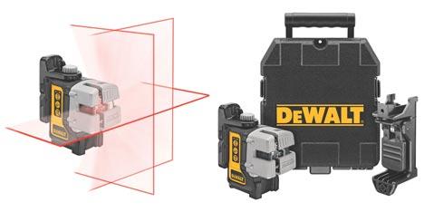 Новый трехлучевой лазерный уровень от DeWalt