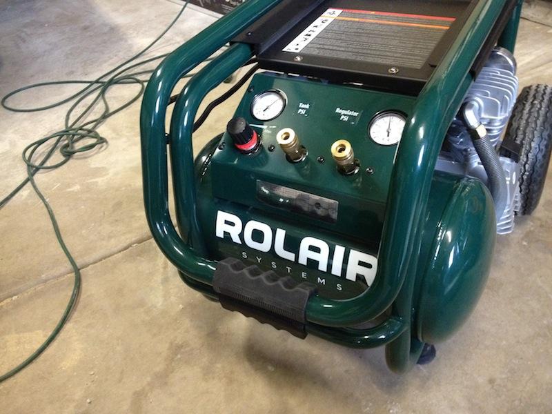 Усиленный компрессор Rolair VT25BIG