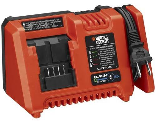 """Зарядное устройство для 20-вольтных аккумуляторов Black & Decker с технологией """"Flash Charge"""""""