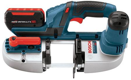 Аккумуляторная ленточная пила Bosch BSH180 – еще меньше и еще легче