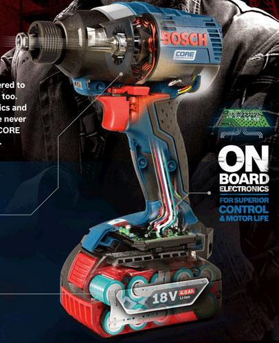 Bosch CORE – новая линейка бесщеточных инструментов