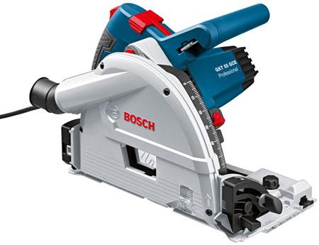 Погружная пила Bosch, оптимизированная для работы с направляющими