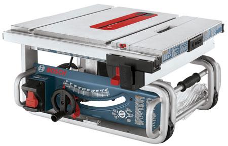 Новая портативная настольная пила GTS1031 от Bosch
