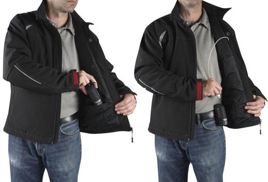 Куртки с подогревом от Bosch