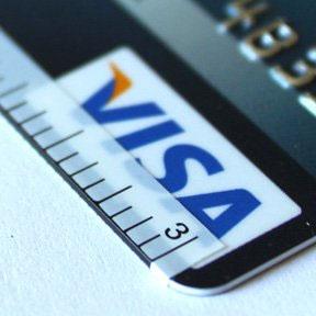 Наклейки, превращающие кредитку в линейку