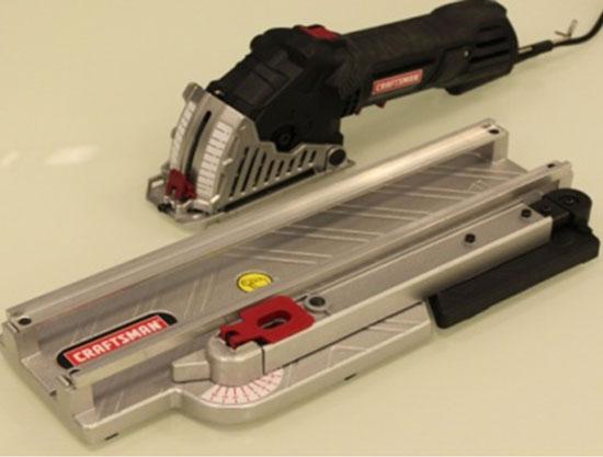Миниатюрная дисковая пила с направляющими Craftsman Trak-Cut Mini