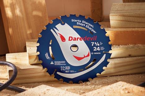 Пильные диски DareDevil от Bosch