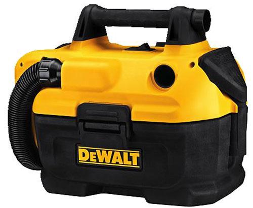 Компактный аккумуляторный/сетевой пылесос Dewalt