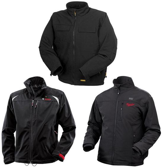 Куртки с подогревом от Dewalt