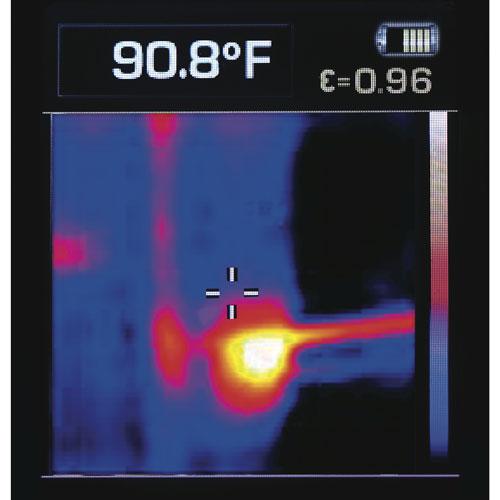 12-вольтный тепловизор Dewalt. Ну очень дешево