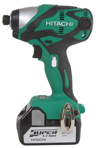 Новые 18-вольтные инструменты Hitachi