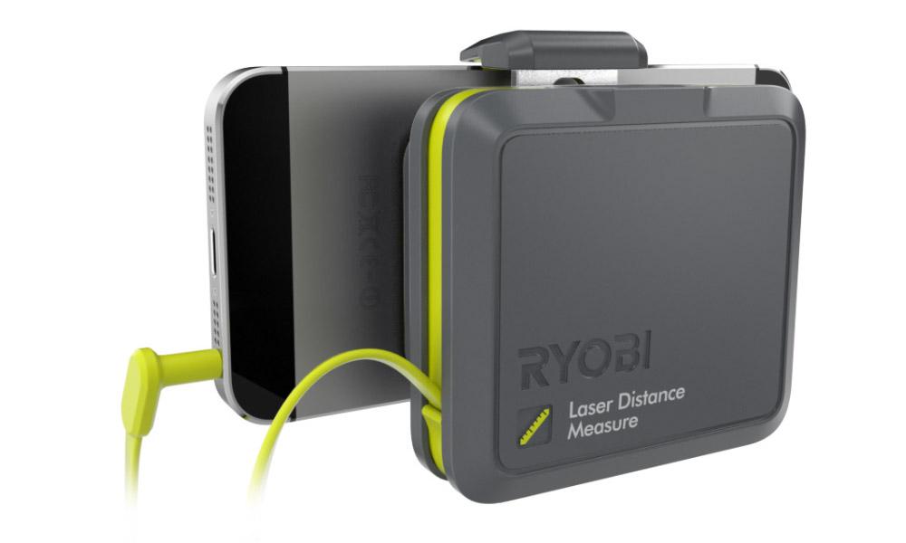 Лазерная рулетка Ryobi Phone Works