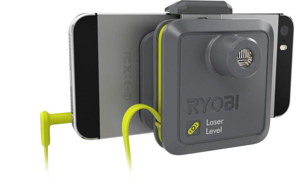 Лазерный уровень для смартфона Ryobi Phone Works