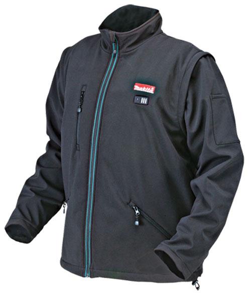 Куртка с подогревом Makita CJ100DZ и DCJ200Z