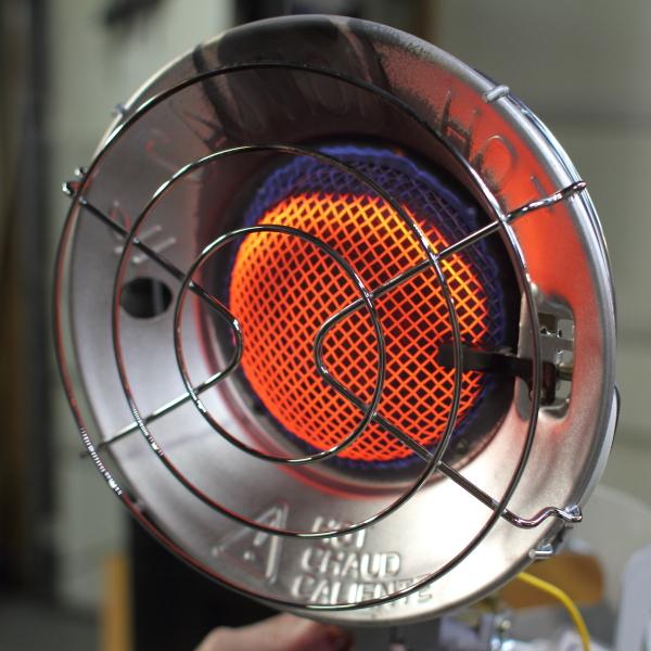 Навесной баллонный газовый обогреватель TT15CL