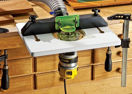 Новый компактный стол для фрезеров от Rockler