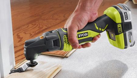 Знакомство с многофункциональным инструментом Ryobi JobPlus Multi-Tool