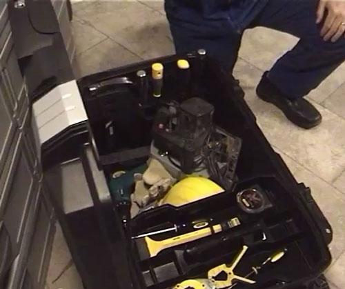 Инструментальные ящики Stanley с замками на RFID-метках