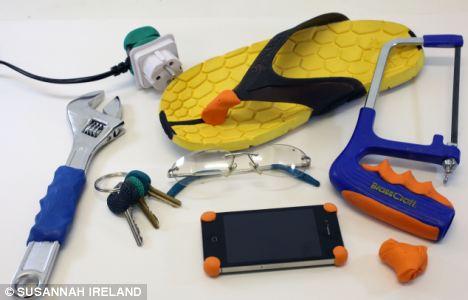 Sugru – пластилин-резина для самостоятельной модернизации инструмента.