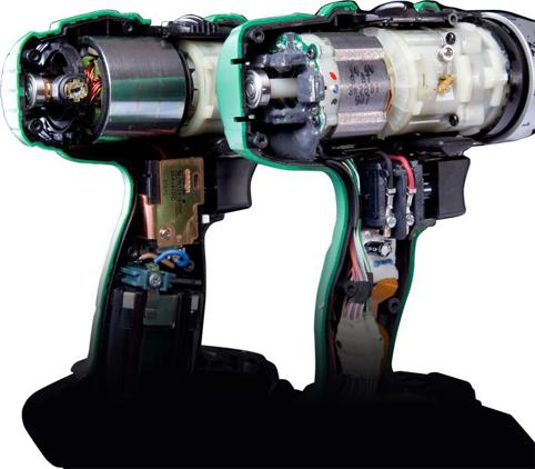 Бесщеточная ударная дрель Hitachi DV18DBL
