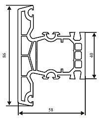 Технические характеристики профилей LAOUMANN