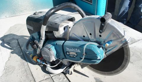 Первая в мире 4-тактная бензиновая обрезная пила Makita EK7651H