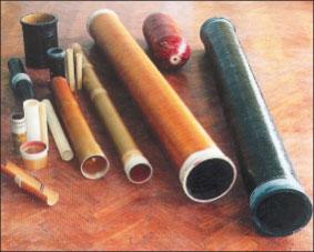 Рис. 7. Стекловолокнистые трубы отечественного производства, внутренний диаметр 50–400 мм