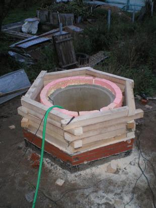 Незамерзающий колодец для водоснабжения