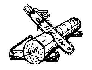 Запилы на бревне для ускорения стёсывания канта