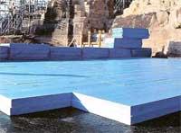 Styrofoam Floormate (Флормейт) - теплоизоляционные плиты из экструдированного пенополистирола голубого цвета