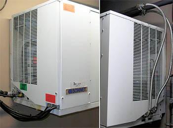 Агрегат холодильника с водяным охлаждением конденсатора