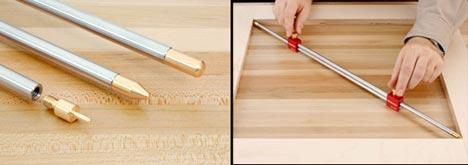Телескопический шаблон Bar Gauge для измерения внутренних размеров от Woodpecker (ВИДЕО)